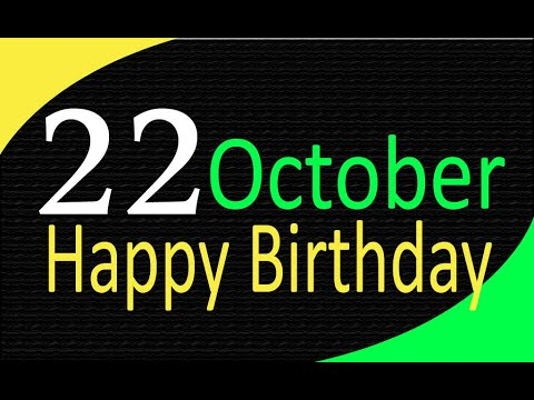 22 October Special New Birthday Status Video, happy birthday wishes,  birthday msg quotes जन्मदिन