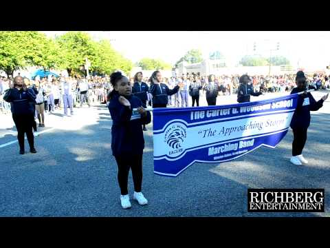 9) The Carter G Woodson School - NC A&T Home Coming Parade Clips 2014