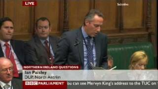 Ian Paisley - Update on Introduction of ANPR