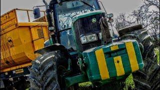 7 Ciągników I 3 Ładowarki w Akcji    Wywóz Obornika w OHZ Garzyn    2019