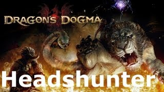 Dragon's Dogma: Trophy - Headshunter (Archydra)