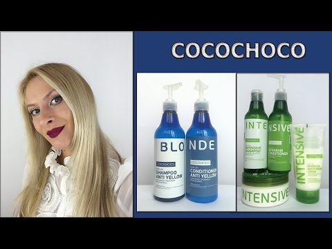 COCOCHOCO: уход за блондом, увлажнение. Серии BLONDE, INTENSIVE