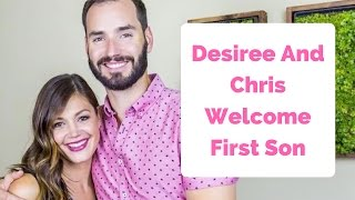 Desiree Hartsock And Chris Siegfried Welcome First Son
