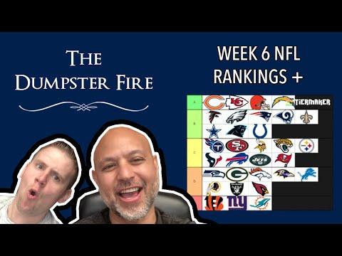 WEEK 6 IN THE NFL HAS US LIKE WHOA - Power Rankings, MLB, NHL and Lebron