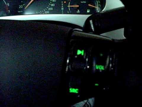 Saab 9-5 Aero Carbon Fiber Steering Wheel With Illuminated Buttons