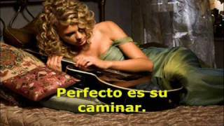 Taylor Swift - Teardrops On My Guitar (Spanish version)  [LETRA Y MP3 GRATIS]