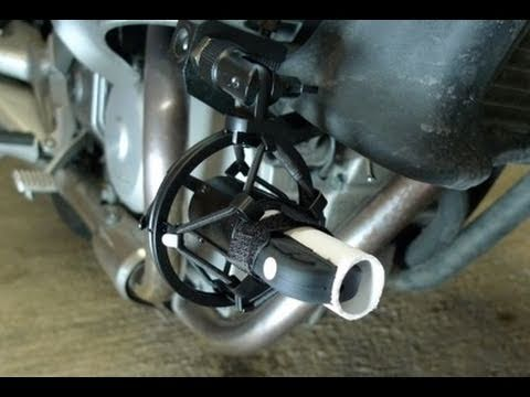 A Cheap HD Camera Bike Mount - How to make a cheap HD Camera Motorcycle Mount.