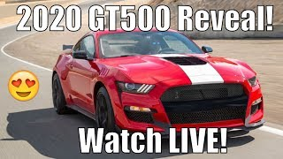 2020 Shelby GT500 Reveal *WATCHPARTY!* LIVE!
