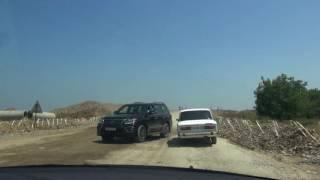 Азербайджан. Переход из Дагестана. Первые впечатления от страны. Дорога после границы