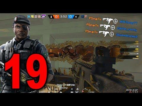 Rainbow Six Siege - Part 19 - INSANE SPAWN PEEK (+ New Operator!)