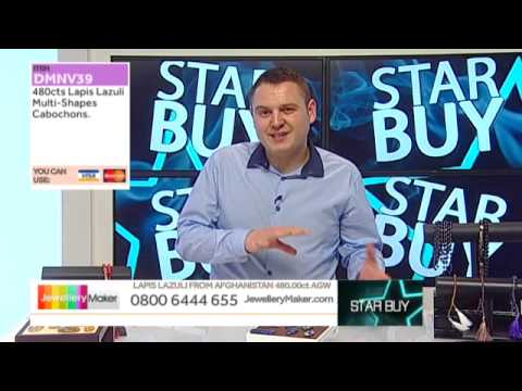 Fire Opal Plain Small Nuggets on The Late Show with Ed McKay JewelleryMaker LIVE 25/01/2015