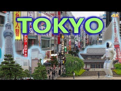 TOKYO - JAPAN 4K