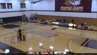 USF Volleyball Classic: St. Francis (Ill.) vs. Ottawa University (AZ) (Feb. 19, 2021)