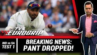 Breaking NEWS: Pant DROPPED!   'TVS Eurogrip' presents #AakashVani EXTRA   Cricket Analysis