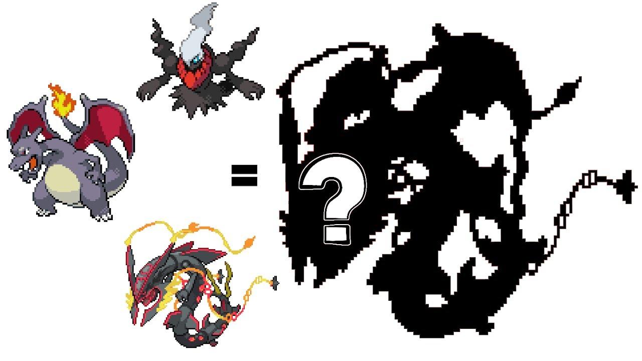 pokemon fusion sprite request 56 shiny mega rayquaza