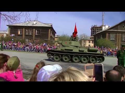 День Победы 9 мая Верхняя Пышма парад победы с авиатехникой