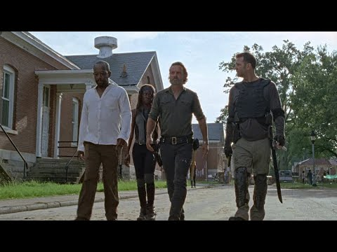 TWD S7E9 - The Group Leaves The Kingdom