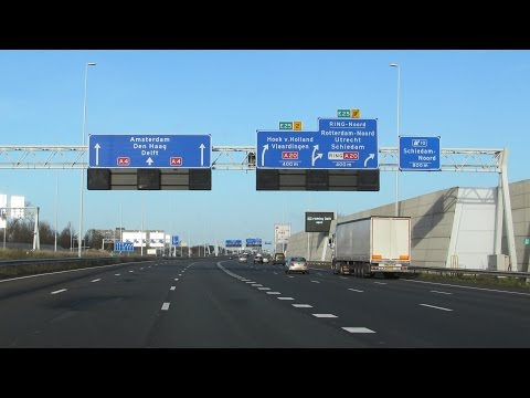 A4 Rotterdam - Amsterdam (extended)