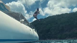 Balade en mer en Martinique