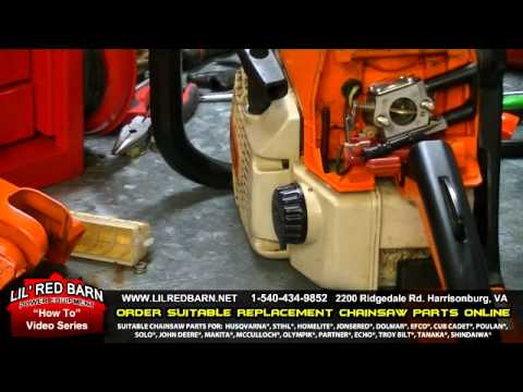 Stihl Ms250 Chainsaw Parts Diagram Junction Box Pruefkontakt How To Replace The Carburetor On A - Youtube