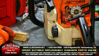 How to Replace the Carburetor on a Stihl Chainsaw