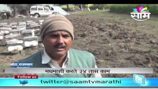 Dinkar Patil's Honey Bee Farming/Honey Bee Keeping (Apiary) - (Madhu Makhi Palan) success story