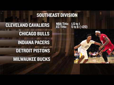 NBA Futures Odds: Central Division Preview