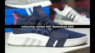 Unboxing: adidas EQT Basketball ADV Collegiate Navy