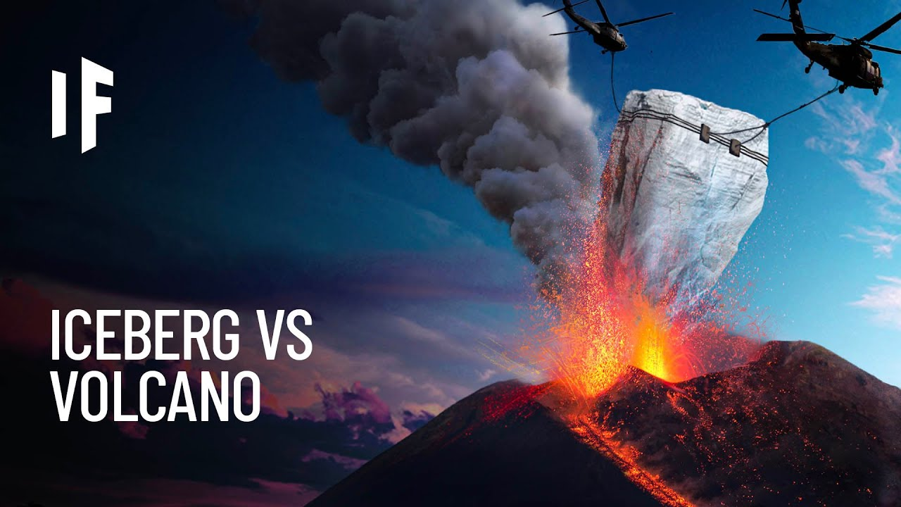 What If You Dumped an Iceberg Into a Volcano?