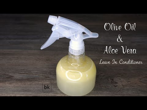 Aloe Vera & Olive Oil Leave In Conditioner | Natural Hair Products