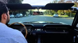 1965 A code 4 speed convertible  mustang