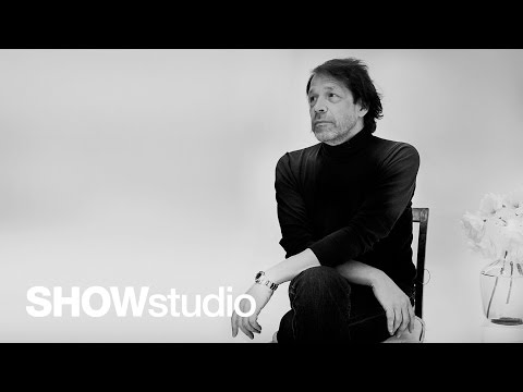 Peter Saville: In Fashion interview, uncut footage