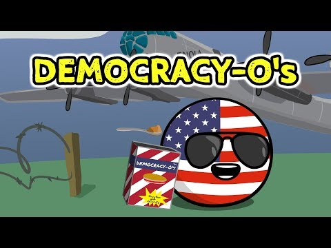 US Democracy-O's - Countryballs