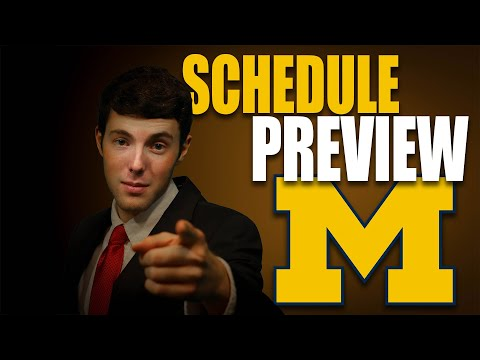 Michigan 2020 College Football Schedule Preview
