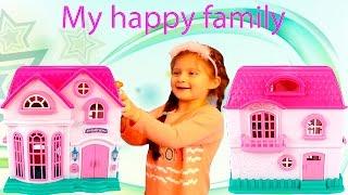 Игрушечный домик / Кукольный домик / Игры для девочек / Большой игрушечный дом / Игрушечная мебель