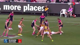 Round 7 AFL - Melbourne v Hawthorn