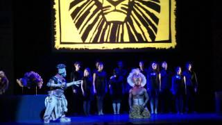 Lion King The Musical in Singapore (Simba, Rafiki & Choir) | SUPERADRIANME.com