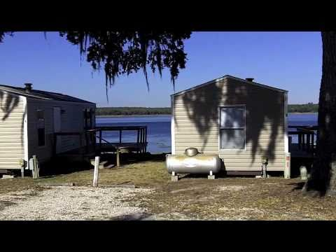 Lakefront Cabins For Rent In Ocala Florida At Mill Dam Lake Resort