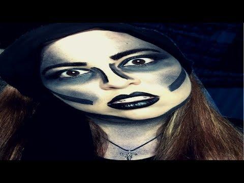 LIVING THE GOTHIC FANTASY | Monochromatic Makeup Challenge #3