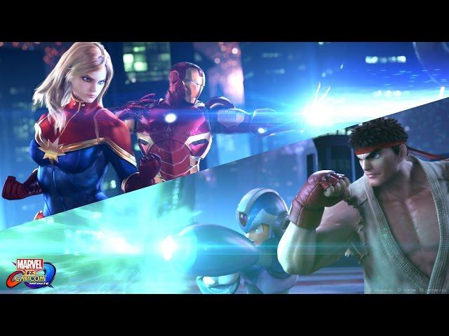 Marvel vs Capcom: Infinite (видео)