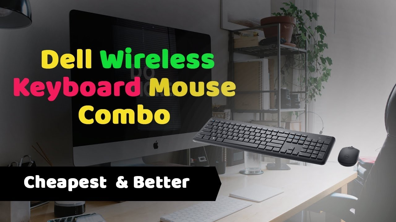 best cheapest dell km117 wireless mouse keyboard combo 2018 youtube. Black Bedroom Furniture Sets. Home Design Ideas