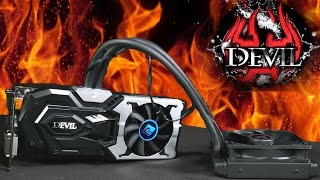 powercolor devil r9 390x graphics card review