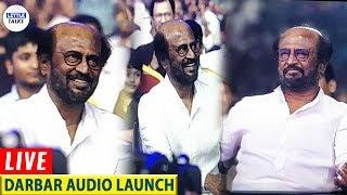 SuperStar Rajinikanth's Kola Mass Entry | Darbar Audio Launch Live