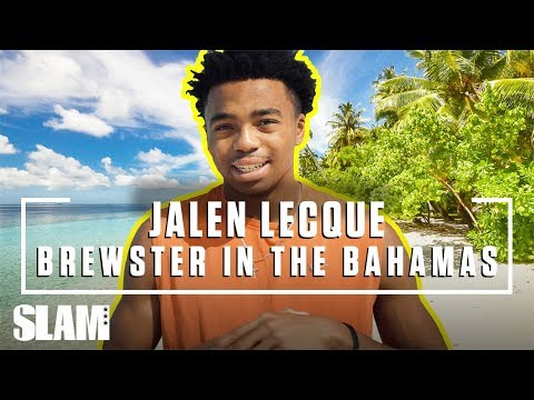Jalen Lecque & The Brewster Boyz Hit the Bahamas 🏝️   SLAM Day in the Life