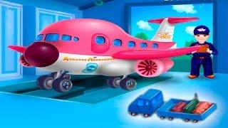 Мультфильм - Будни аэропорта. Экскурсия по аэропорту. Развивающий мультфильм.