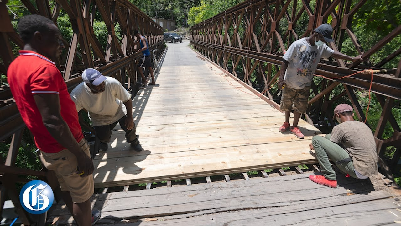 Residents of Ramble, St Thomas welcome bridge repairs