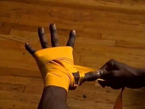 Правильная бинтовка рук для