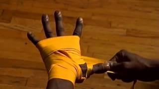 Правильная бинтовка рук для бокса