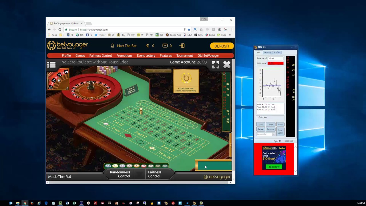 Roulette robot tc software gambling pay pal