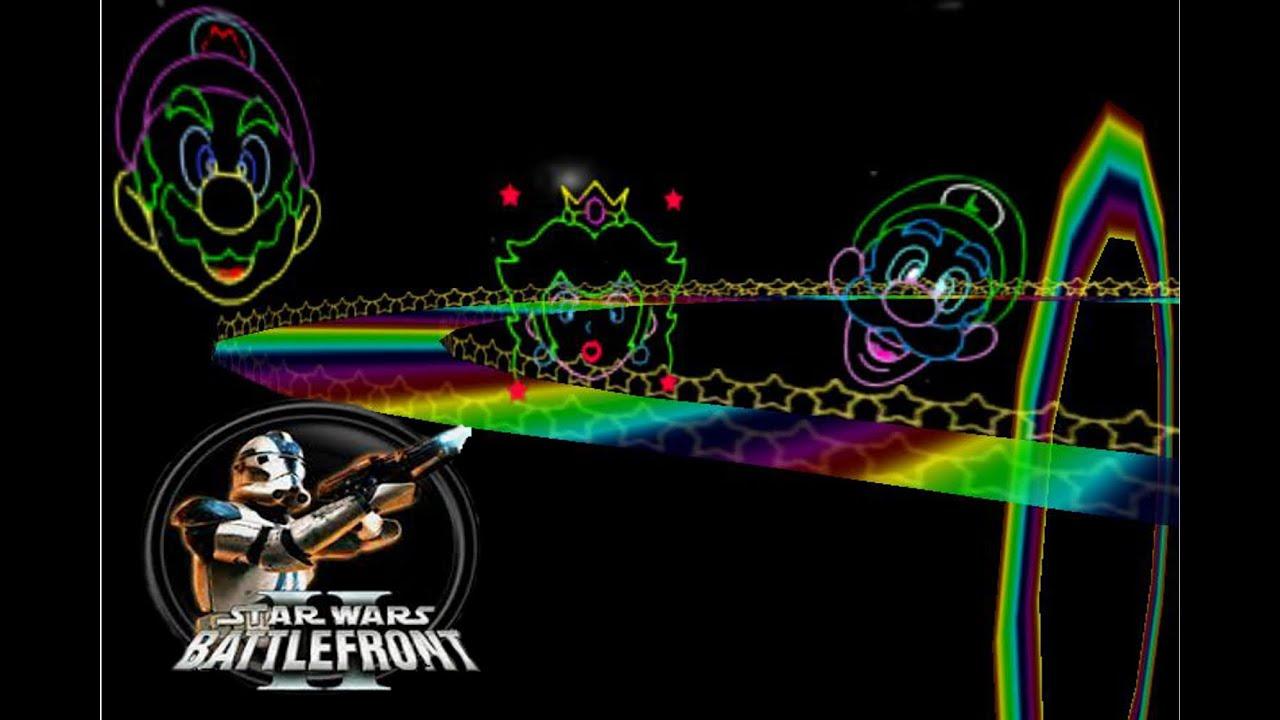 Star Wars Battlefront 2 Mods Hd Mario Kart 64 Rainbow Road